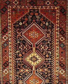 Yalameh,Persien ca 198 x 83 cm. Wolle auf Wolle.