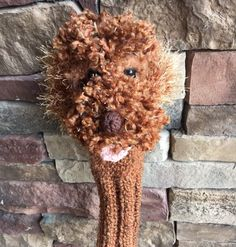 Excited to share this item from my shop: Made to order Hand knit red labradoodle dog golf club cover golf sock Golf Club Covers, Golf Head Covers, Red Labradoodle, Golf Socks, Pet Tags, Friends In Love, Golf Clubs, Hand Knitting