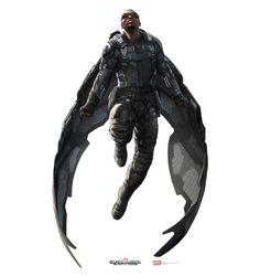 Arte Conceitual Falcão em Capitão América: O Soldado Infernal (2014) - Marvel Studios  #PipocaComBacon