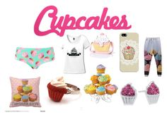 """""""Cupcakes"""" by halemaddi ❤ liked on Polyvore featuring art"""