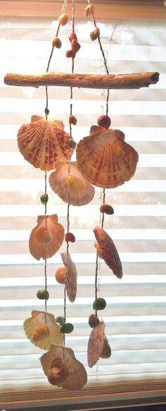 Seashell Wind Chime by Eagle414