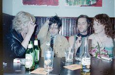 Marianne Faithfull, Ryan Adams, Rufus Wainwright, and Melissa Auf der Maur way back in the day.