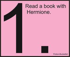 Harry Potter - JK Rowling  Fictional Bucketlist