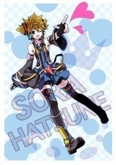 Sora as a Vocaloid