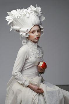 Ася козина-бумага-barique-wigs1