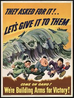 """They asked for it!"" US General Motors Corporation, Pontiac Motor Division c. 1942."