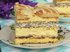 Polish Desserts, Polish Recipes, No Bake Desserts, Mini Cakes, Cupcake Cakes, Baking Recipes, Cake Recipes, Unique Desserts, Sweets Cake