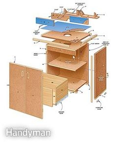 Miter saw workcenter woodworking plan this woodworking plan router table plans greentooth Images