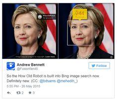 Bing introduce el experimento How Old (que adivina la edad) en su buscador de imágenes