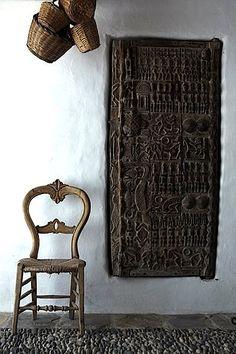 African interior design African Interior Design, African Design, African Art, Global Style, Global Design, Wabi Sabi, African Home Decor, Interior Minimalista, Wood Doors