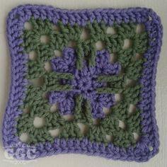 Granny Square Crochet Along Week 7