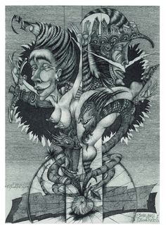 """110. Sergei Brodovich """"Paradise apple"""" C3\C5\C7 12,9 X 18,1 www.hrapov.com"""