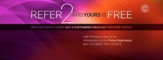 LE-VEL THRIVE. Sign up as a customer FREE! Get 2 friends to sign up as customers and your product is free. #Mainethrives louellagrindle.le...