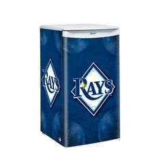 MLB Tampa Bay Rays Counter Top Refrigerator « Blast Gifts