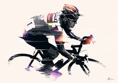 On the wall is a daily collection of illustrations inspired by legends. (By Bram Vanhaeren) Bicycle Tattoo, Bicycle Art, Bicycle Design, Cycle Painting, Bicycle Illustration, Urban Bike, Drawing Projects, Cycling Art, Drawing Skills