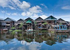 Kompong Phluk Floating Village - CAMBODIA
