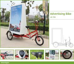 advertising bicycle ,Mobile advertising bikes for effective and efficient marketing campaigns. Mobile advertising billboards bike that take your advertising to your customers.