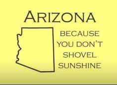 Perfect for Arizona weather!