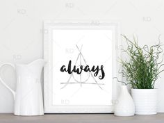 Always - Severus Snape Quote Printable from Harry Potter and the Deathly Hallows