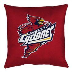 NCAA Iowa State Throw Pillow