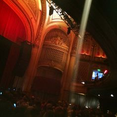 July 2014: Waiting for Nick Cave & the Bad Seeds, The Warfield, San Francisco.