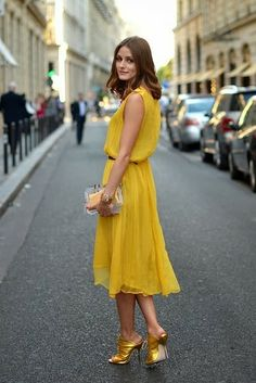 Olivia Palermo Street #Style
