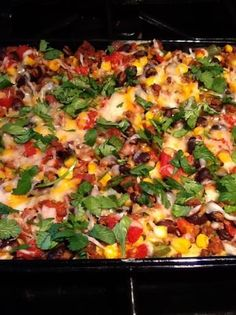 I tried this Mexican Casserole the other night. Super yummy and easy to make.