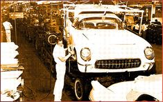 As Corvettes got better and better in the late 1950s and through the 1960s, new Corvette enthusiasts weren't aware that the first batch of 300 Corvettes were built in a make-shift assembly plantin Flint, Michigan, that was previously a large garage. While the St. Louis plant was a big improvement, it left a lot to be desired.