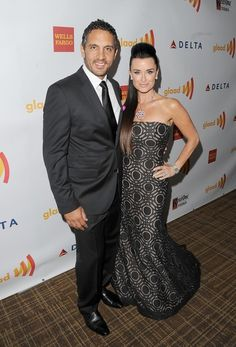 Mauricio Umansky and Kyle Richards arrive at the 23rd Annual GLAAD Media Awards presented by Ketel One and Wells Fargo held at Westin Bonaventure Hotel