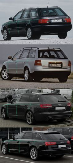 Audi A6 Avant pinch evolution