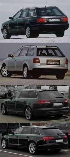 Audi A6 Avant pinch evolution