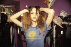 Angelina Jolie in the 90's