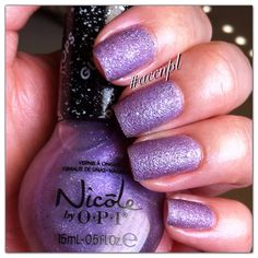 Three coats and no top coat of I Lilac Gumdrops by Nicóle by OPI. #nails #nailpolish #swatches #NicóleByOPI .     Instagram: accnpl