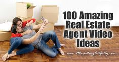 This list is 100 REAL ideas for real estate marketing videos. Bookmark this page and just go down the list, making videos and increasing your marketing assets!