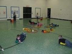 Carly's P.E. Hungry Hippos and Body Bowling.