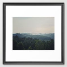 The Great Smoky Mountains Framed Art Print
