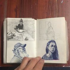 Fabulous Drawing On Creativity Ideas. Captivating Drawing On Creativity Ideas. Arte Sketchbook, Sketchbook Pages, Sketchbook Ideas, Street Art Graffiti, Art Du Croquis, Ink Drawings, Drawing Faces, Art Et Illustration, Sketchbook Inspiration