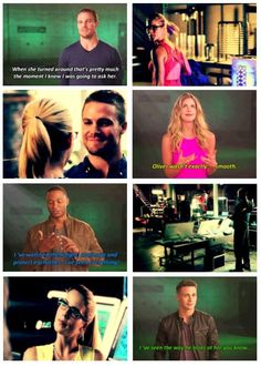 Arrow / olicity - that's hilarious woooow