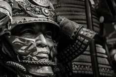 Face of a samurai