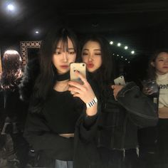 Ulzzang Girl Fashion, Ulzzang Korean Girl, Ulzzang Couple, Cute Couple Pictures, Bff Pictures, Korean Girl Photo, Best Friend Couples, Tumblr Bff, Korean Best Friends
