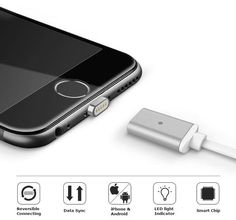Garas Magnetic USB Cable:  Seamlessly Charge and Sync Your Phone