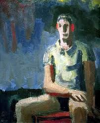 """""""Man in a T-shirt"""" by David Park"""