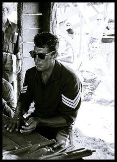 "Dean Martin on the set of "" Sergeants 3 """