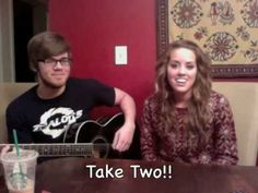 Angie Miller and her brother Jon Singing Who You Are by Jessie J. Love it.