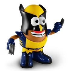 Wolverine Marvel Comics Mr. Potato Head... He's gonna accidentally turn himself into potato chips.. lol