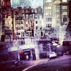 Double Exposures Blur Lines Between New York and London by Daniella Zalcman