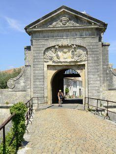 Entrance to Town, St. Martin De Re, Charente-Maritime, Poitou-Charentes, France