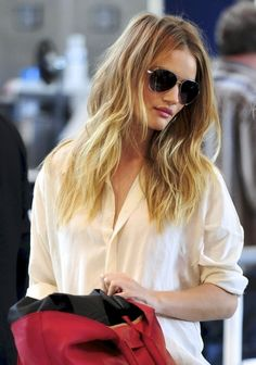 love the off white, button up, loose fitting blouse. SO versatile
