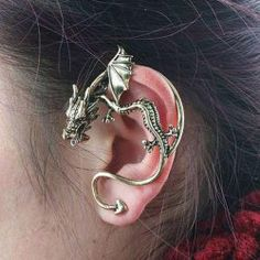 $2.85 Retro Gothic Style Dragon Shape Earring