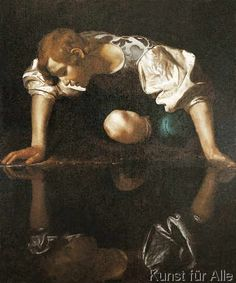 Michelangelo Merisi Caravaggio - Narziß